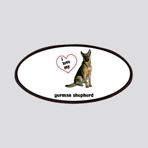 German Shepherd Lover Patches